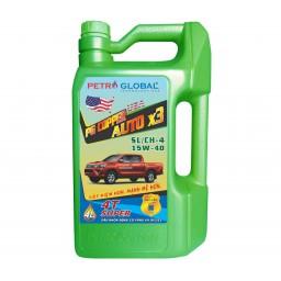 PG Copper Auto x3 API SL/CH - 4, SAE 15W - 40 (chai 4L)