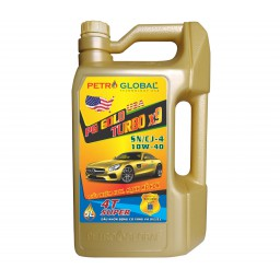 PG Gold Turbo x9 API SN/CJ 10W-40 (chai 5L)